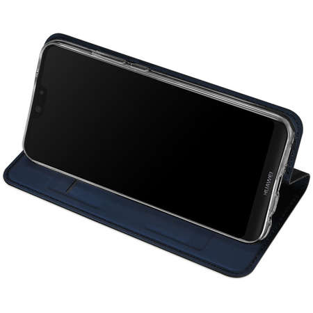 Husa Flip Cover Dux Ducis Skin pentru Huawei P Smart 2019 Albastru
