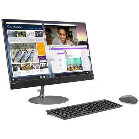 Sistem All in One Lenovo IdeaCentre 730S-24IKB 23.8 inch FHD Touch intel Core i7-8550U 8GB DDR4 2TB HDD 256GB SSD AMD Radeon 530 2GB Windows 10 Home Iron Grey