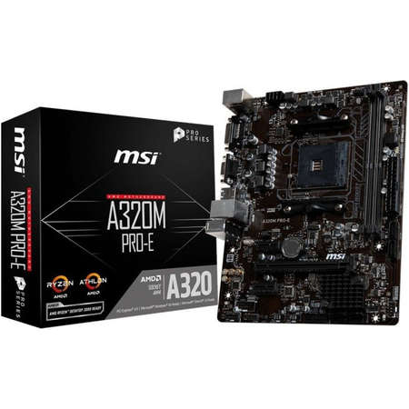 Placa de baza MSI A320M PRO-E AMD AM4 mATX