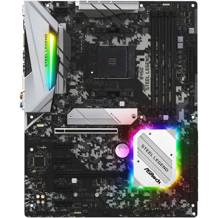 Placa de baza Asrock B450 Steel Legend AMD AM4 ATX