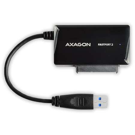 Adaptor USB 3.0 la 2.5 inch SATA HDD/SSD AXAGON ADSA-FP3 20cm Negru