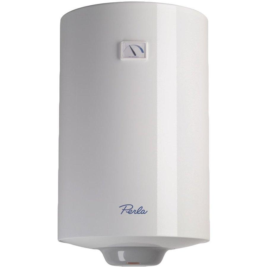 Boiler electric PERLA 50 V 1,5K EU2 1500W Capacitate 50 litri  Rezervor dublu emailat Alb