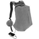 Rucsac laptop Tellur Antifurt V2 cu port USB 15.6 inch Gri