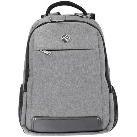 Rucsac laptop Tellur Companion cu port USB 15.6 inch Gri
