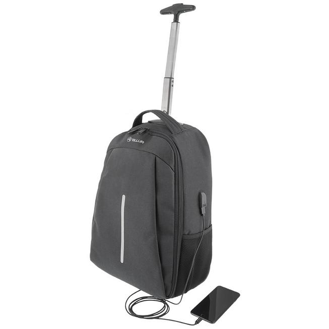 Troller laptop Rolly 15.6 inch USB Negru