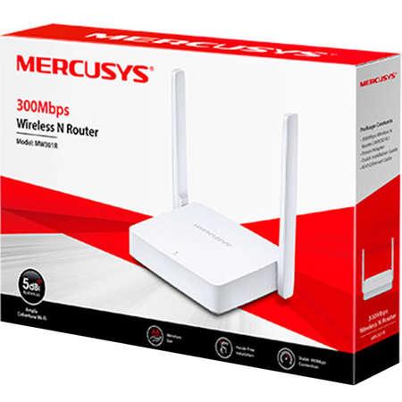 Router wireless MERCUSYS MW301R Single band 2.4 GHz 2 Antene Alb