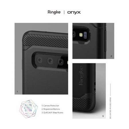 Husa Protectie Spate Ringke Onyx Negru pentru Samsung Galaxy S10