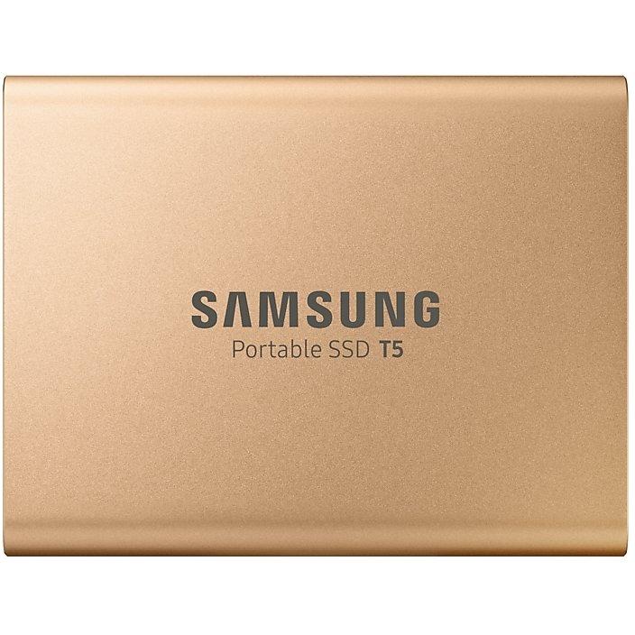 SSD Extern T5 Portable 1TB USB 3.1 Auriu thumbnail