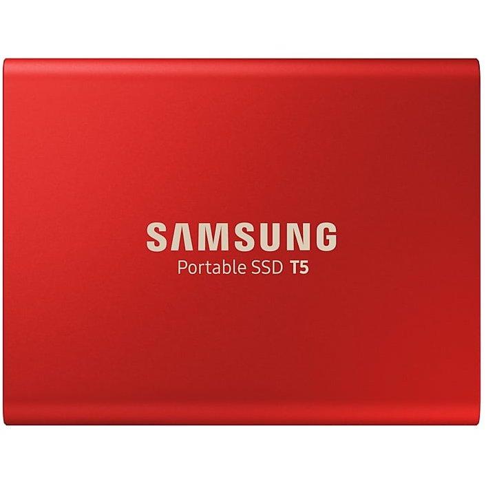 SSD Extern T5 Portable 500GB USB 3.1 Rosu thumbnail