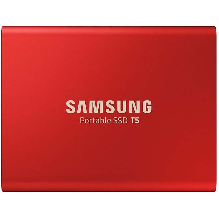 SSD Extern T5 Portable 1TB USB 3.1 Rosu thumbnail