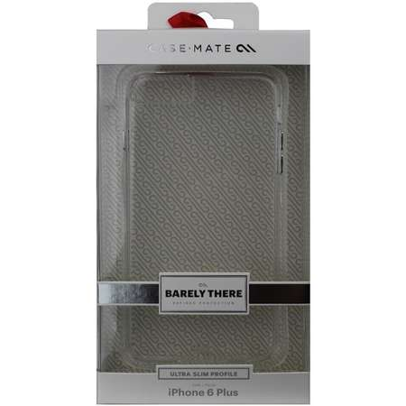 Carcasa Case Mate Barely There iPhone 6/6s Plus Clear