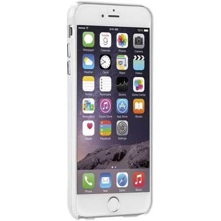 Carcasa Case Mate Barely There iPhone 6/6s Plus White