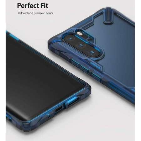 Carcasa Ringke Fusion X Huawei P30 Pro Space Blue