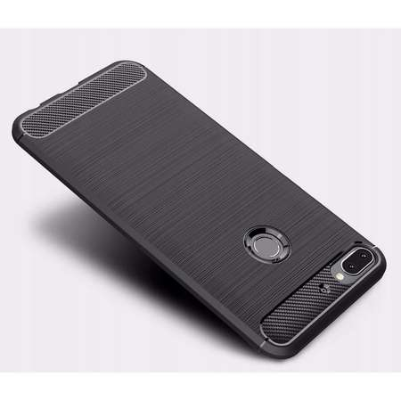 Carcasa TECH-PROTECT TPUCARBON HTC Desire 12 Plus Black