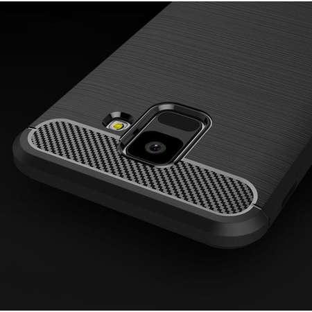 Carcasa TECH-PROTECT TPUCARBON Samsung Galaxy A6 (2018) Black