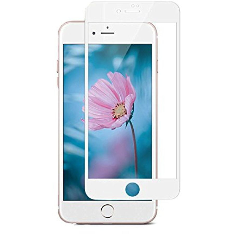 Folie protectie 3D Full White Tempered Glass 0.3mm iPhone 7/8 Plus
