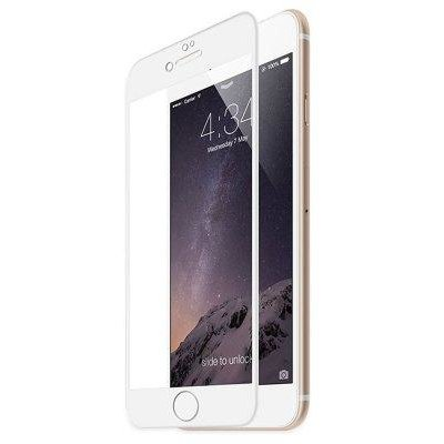 Folie protectie 4D Full White Tempered Glass 0.3mm iPhone 7/8 Plus