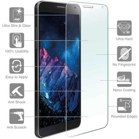 Folie protectie transparenta Case friendly 4smarts Second Glass Limited Cover Samsung Galaxy J5 (2017)