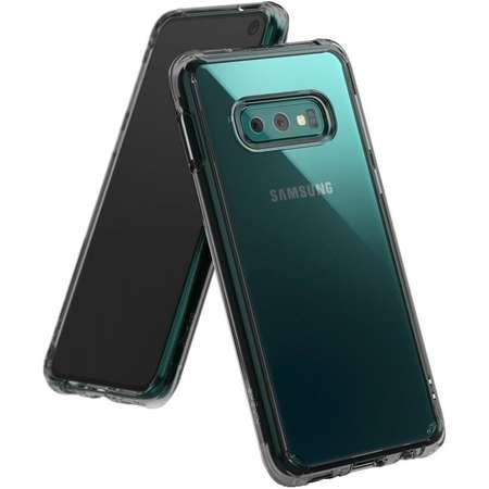 Husa Ringke Fusion Samsung Galaxy S10E Smoke Black