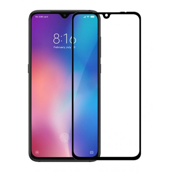 Folie sticla Case friendly Glass FC Xiaomi Mi9 Black