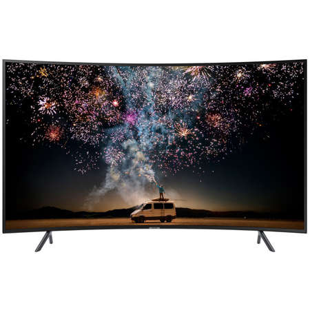 Televizor Samsung LED Smart TV Curbat 55RU7302K 139cm Ultra HD 4K Black