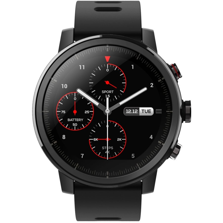 Smartwatch Amazfit Stratos OLED 1.34inch Bluetooth 4.0 Multisport Tracking GPS Black thumbnail