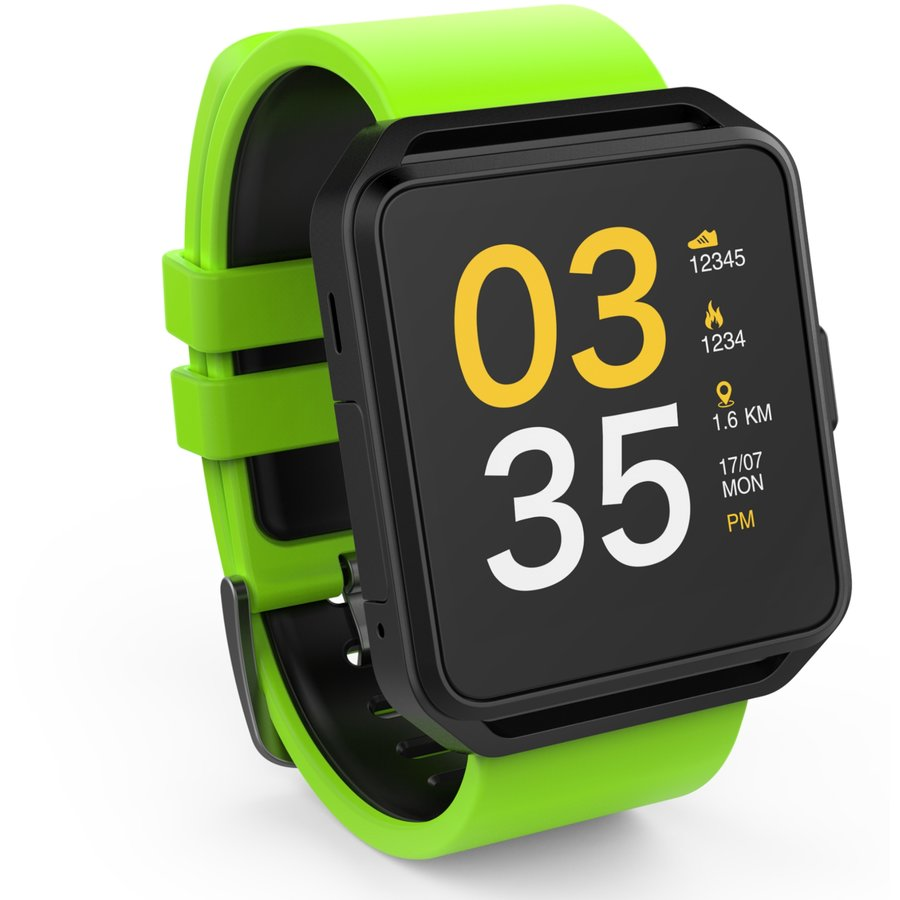 Smartwatch FW15 Square Green thumbnail