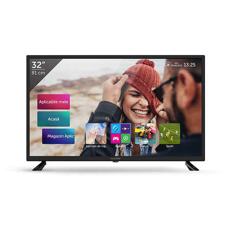 Televizor LED Allview 32ATS5000-H Smart TV 81cm 200 cd/mp HD Ready Black