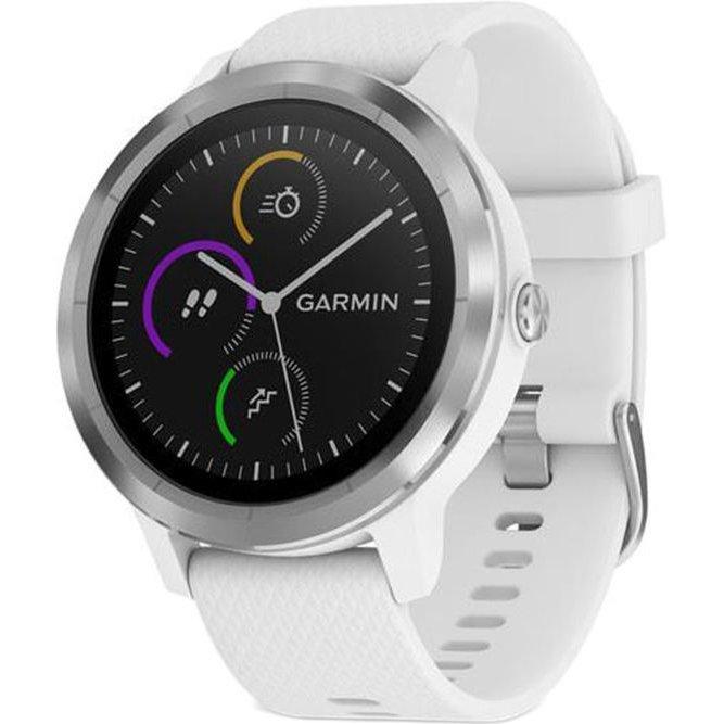 Smartwatch Vivoactive 3 GPS Silver curea Silicone White thumbnail