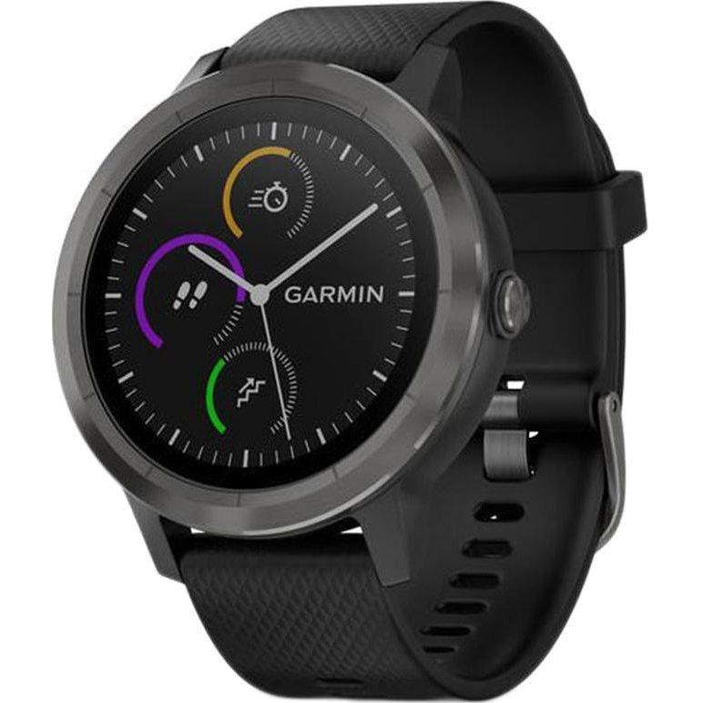 Smartwatch Vivoactive 3 GPS Slate curea Silicone Black thumbnail