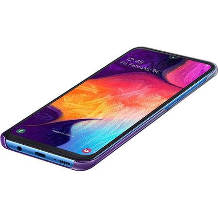 Husa Protectie Spate Gradation Violet pentru SAMSUNG Galaxy A50