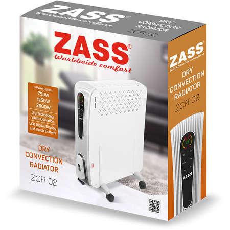 Radiator electric cu convectie Zass ZCR 02 2000W Alb