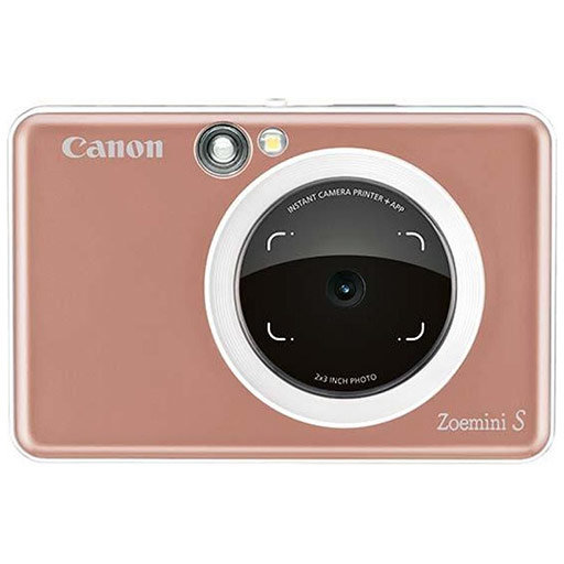 Aparat Foto Instant ZoeMini S Instant Camera Roz Gold thumbnail