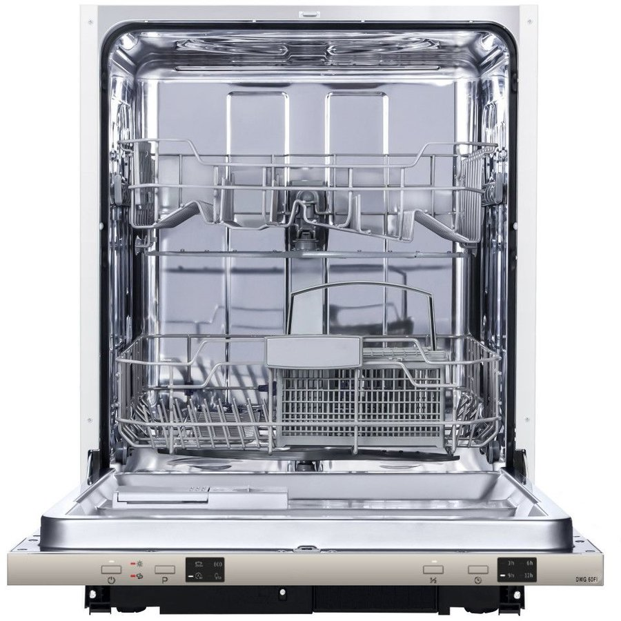 Masina de spalat vase incorporabila DWG60FI 12 seturi 4 programe Clasa A++ Alb thumbnail