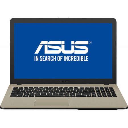Laptop Asus VivoBook 15 X540MA-GO550 15.6 inch HD Intel Celeron N4000 4GB DDR4 256GB SSD Chocolate Black