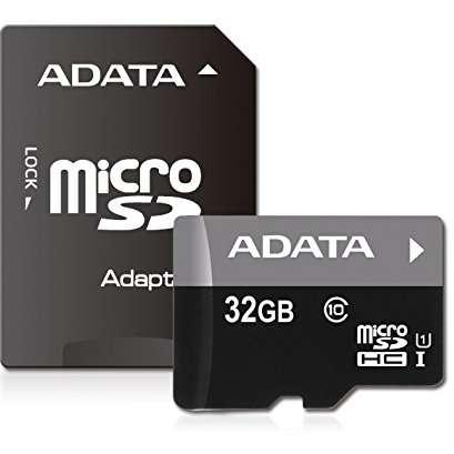 Card de memorie microSDHC ADATA Premier 32GB Clasa 10 + Adaptor SD