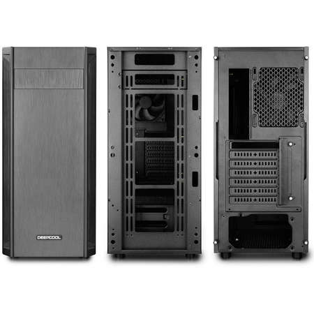 Sistem desktop Editor V6 Powered by ASUS Procesor AMD Ryzen 5 1600 Hexa Core 3.4 GHz  8GB DDR4 Placa video Asus nVidia GeForce GTX 1050 Ti STRIX GAMING 4GB DDR5 SSD 120GB + HDD 2TB Free Dos Black