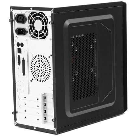 Sistem desktop Start Plus V4 Powered by ASUS Intel Celeron Dual-Core J1800 2.41 GHz Intel HD Graphics 4GB DDR3 120GB SSD + 320GB HDD 450W Black