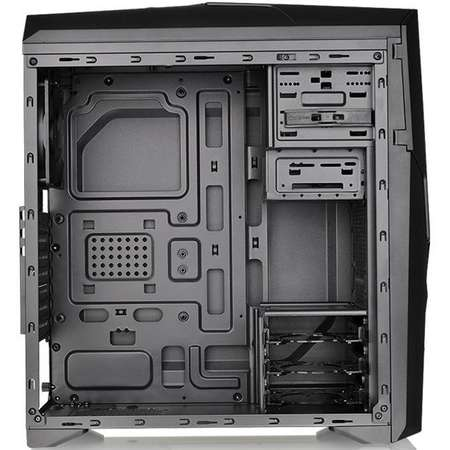 Sistem Gaming Conquer V3 Powered by ASUS Intel Core i5-6600K Quad Core 3.5 GH 8GB DDR4 GTX 1660 Ti Phoenix OC 6GB GDDR6 SSD 120GB + HDD 1TB HDD FreeDos Black