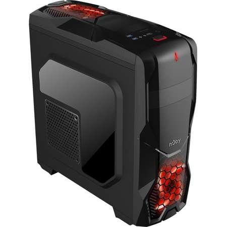 Sistem desktop Vibe V4 Powered by ASUS Procesor AMD Ryzen 3 1200 Quad Core 3.1 GHz 8GB DDR4 Placa video Asus nVidia GeForce GTX 1050 Ti STRIX GAMING 4GB DDR5 SSD 120 GB HDD 1TB Free Dos Black