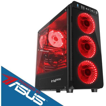 Sistem desktop Primal Gaming Pro V2 Powered by ASUS Intel Core i5-9400F Hexa Core 2.9 GHz 16GB DDR4 2400 MHz Placa video Asus nVidia GeForce GTX 1050 Ti STRIX GAMING 4GB DDR5 SSD 240GB + HDD 1TB Free Dos Black