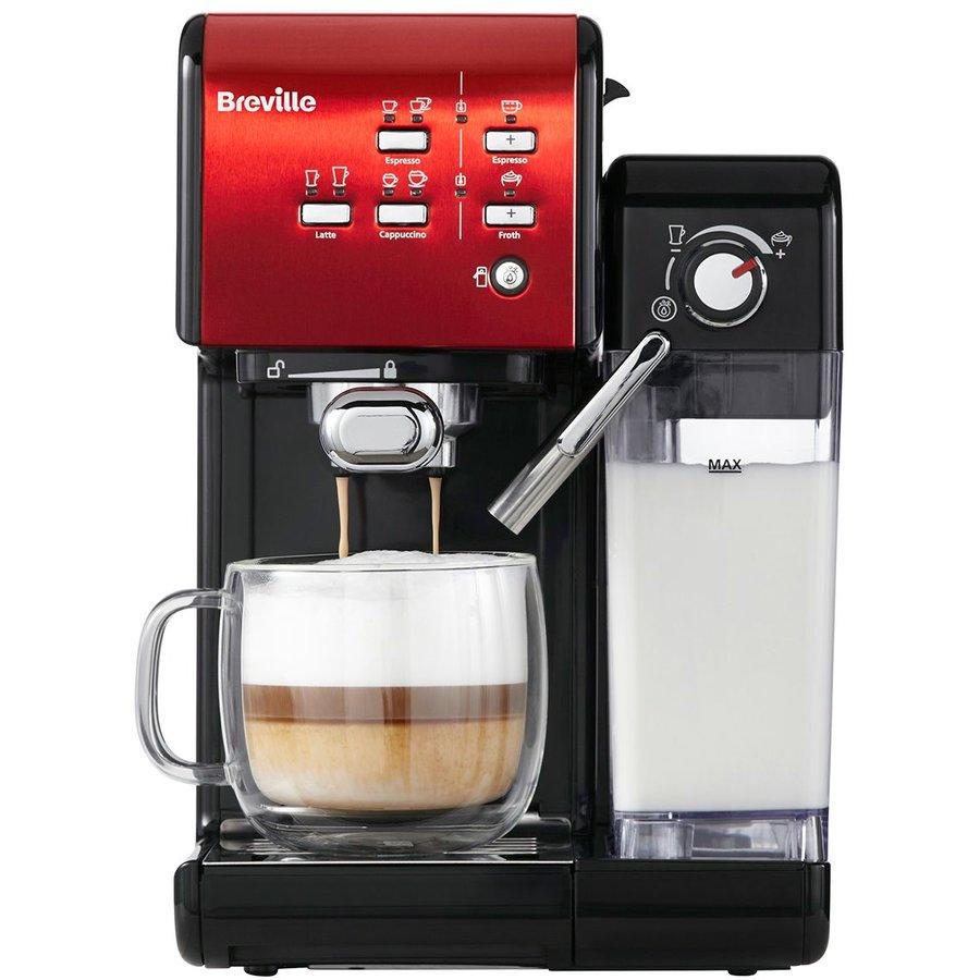 Espressor cafea Prima Latte II Red 19 bar 1.5 L Rosu thumbnail
