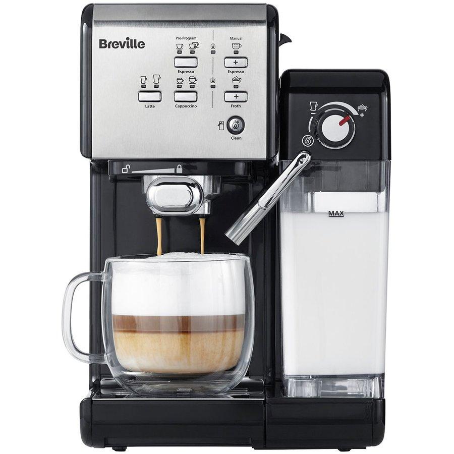 Espressor cafea Prima Latte II Silver 19 bar 1.5 L Argintiu thumbnail