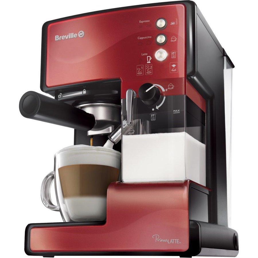 Espressor cafea Prima Latte Red 15 bari 1.5 l Rosu thumbnail