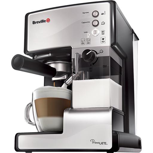 Espressor cafea Prima Latte Silver 15 bari 1.5 l Argintiu thumbnail