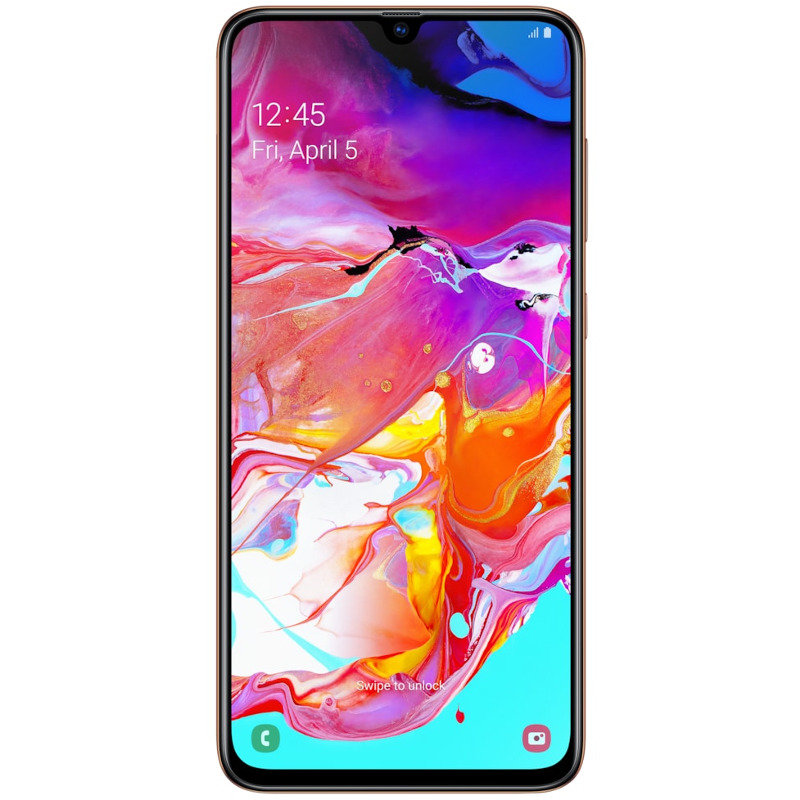 Smartphone Galaxy A70 128GB 6GB RAM Dual Sim 4G Coral