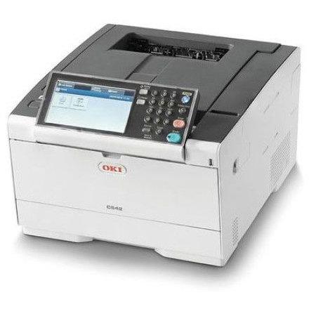 Imprimanta laser color C542dn A4 Duplex Retea White thumbnail