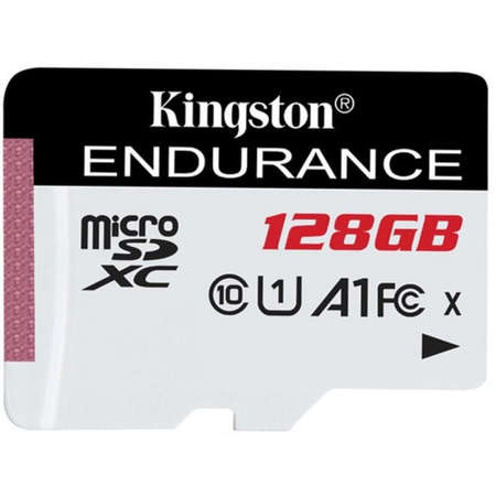 Card Kingston microSDXC High Endurance 128GB Clasa 10 UHS-I