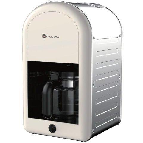 Filtru de cafea Retro Family 70 1.25 litri 1000W Crem
