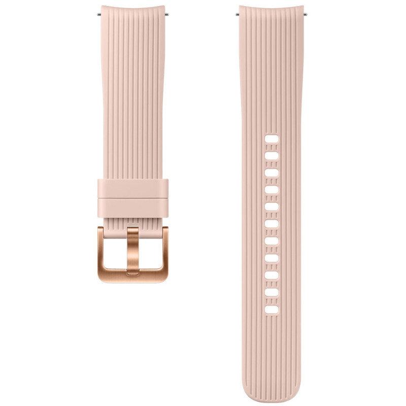 Curea smartwatch Silicone Strap 20 mm Pink pentru Samsung Galaxy Watch 42 mm thumbnail